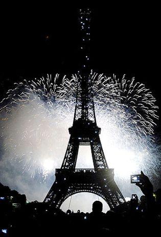 Foto: París y Nueva York, la eterna pelea entre las dos capitales del mundo