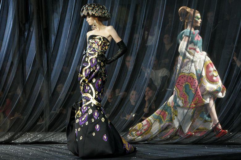 Foto: Desfile histórico de John Galliano para Dior