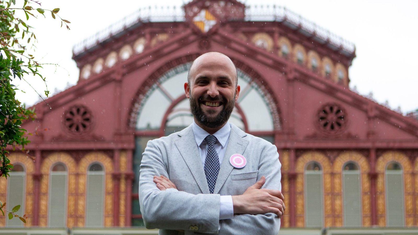 Foto: El candidato a la alcaldía por Barcelona És Capital (BCAP), Graupera. (EFE)