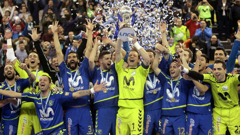 Foto: El Movistar Inter ganó la última edición de la Copa de España de fútbol sala (Pepe Zamora/Efe)