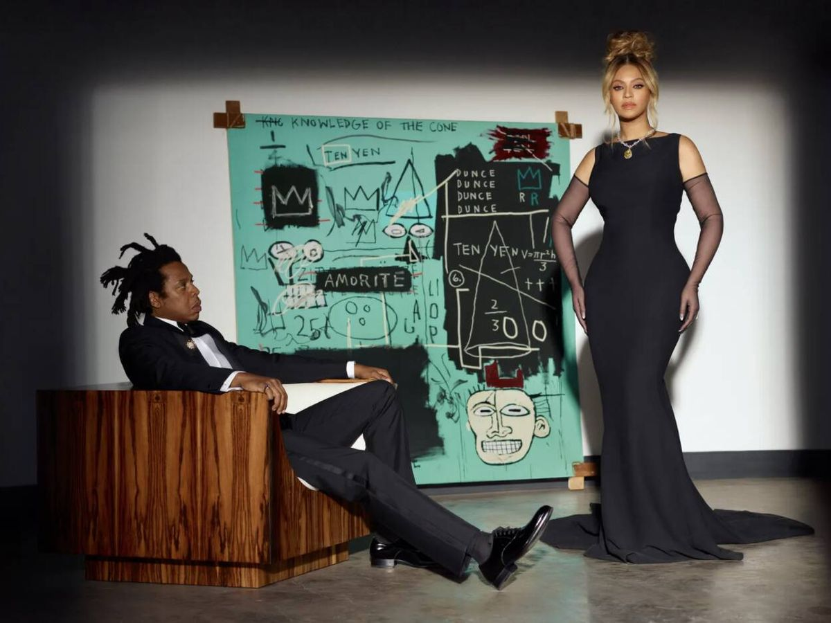 Foto: Beyoncé y Jay-Z para Tiffany.