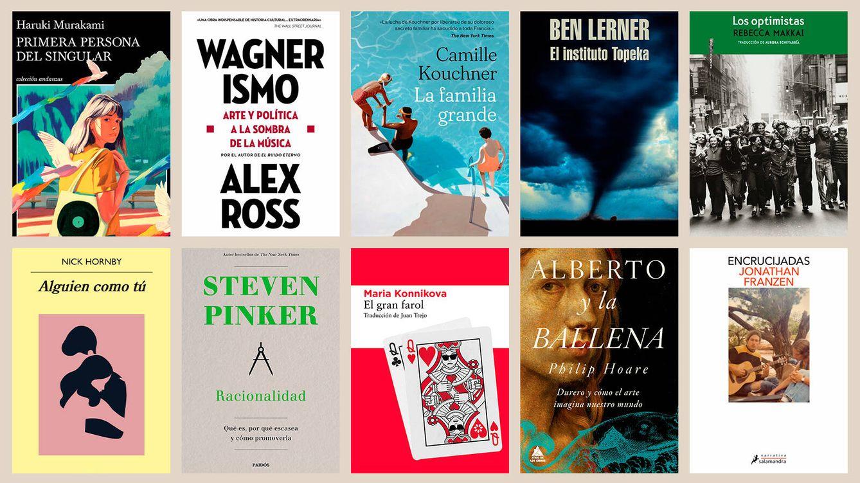 Foto: Los libros de octubre. (EC Diseño)