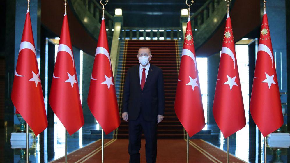 Foto: El presidente Erdogán. (EFE)