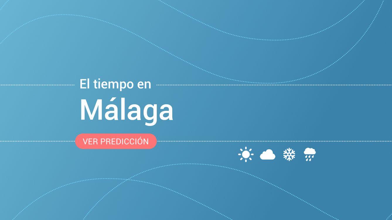 El tiempo en Málaga: previsión meteorológica de hoy, lunes 9 de diciembre