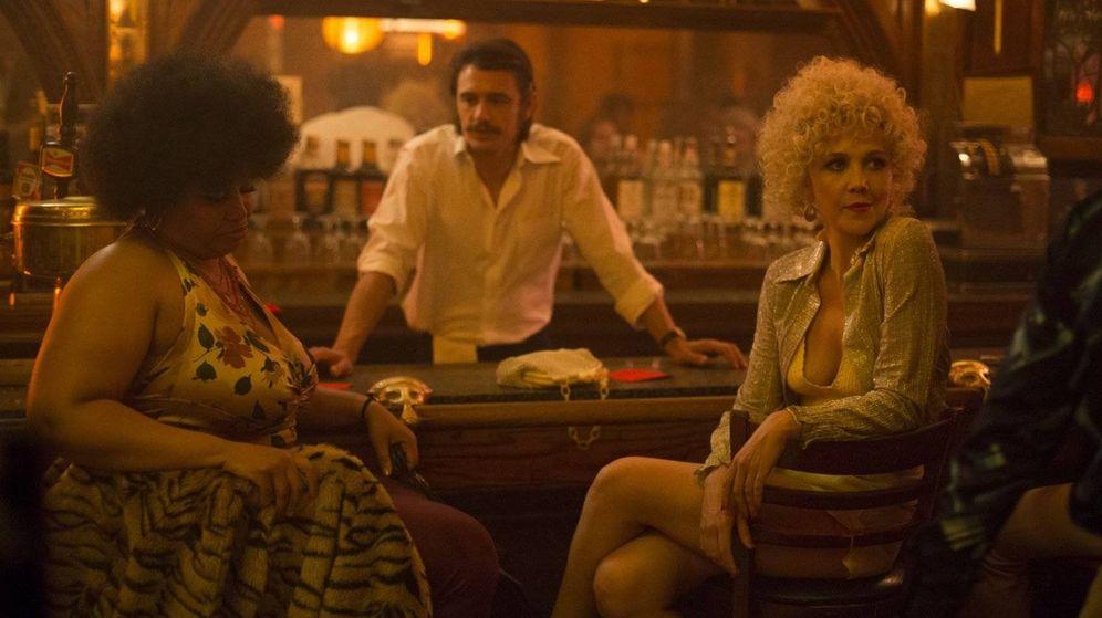Foto: Imagen de 'The Deuce', con James Franco y Maggie Gyllenhaal.