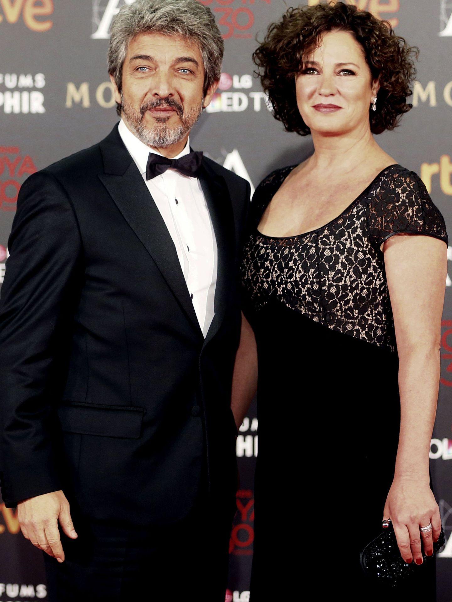 Ricardo Darín y su mujer, Florencia Bas. (EFE)