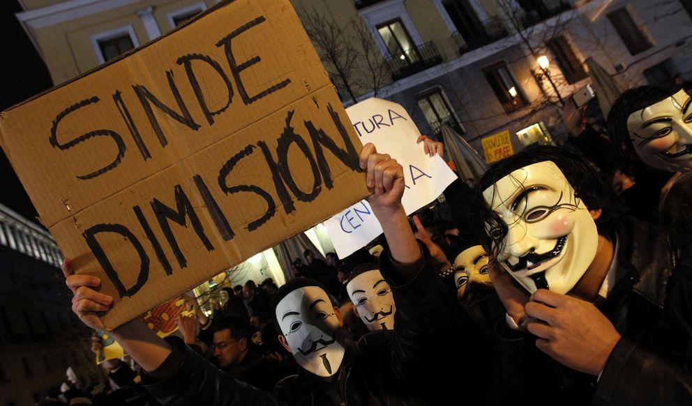 Foto: Si te pareció bien la ley Sinde, ¿por qué te quejas de la ley de Seguridad?