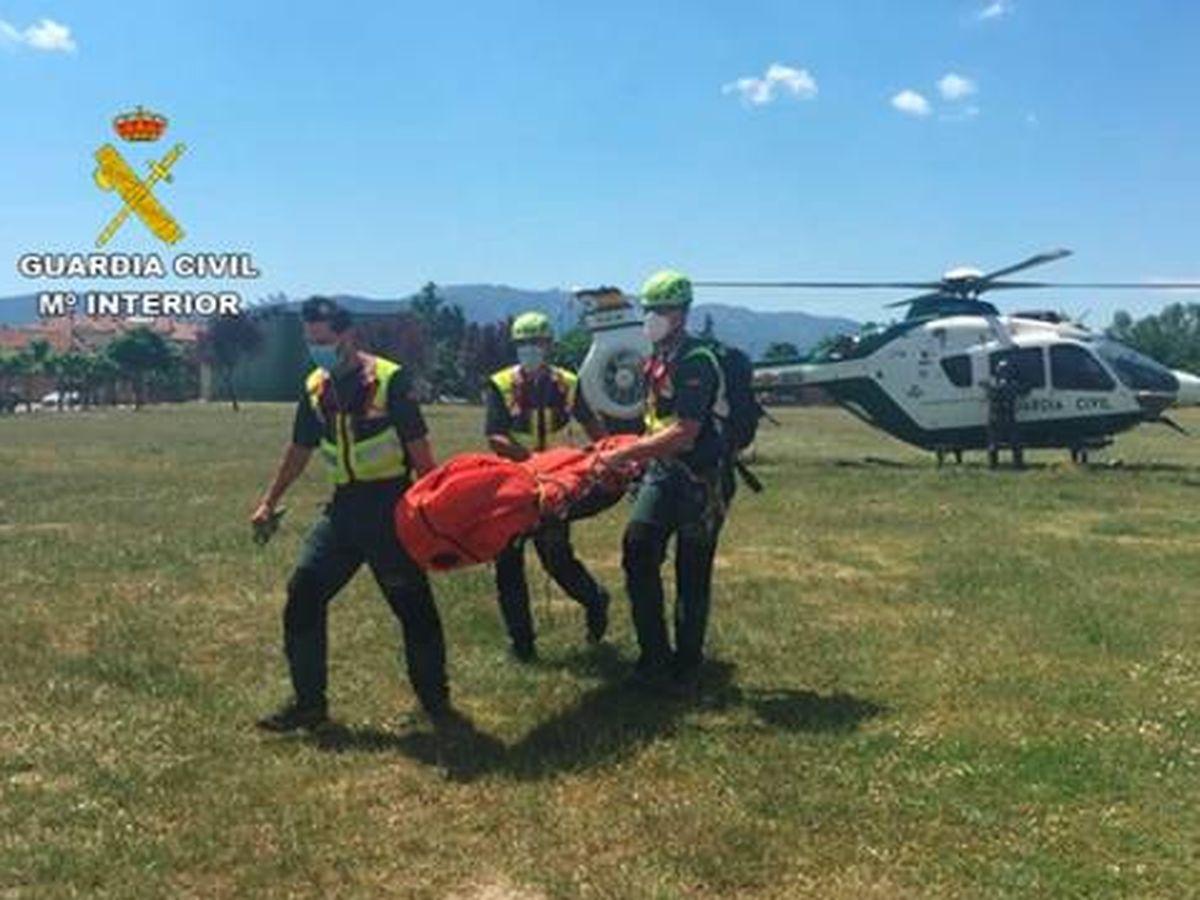 Foto: Recuperan el cuerpo de C.M.S. tras una intensa búsqueda. Foto: Guardia Civil