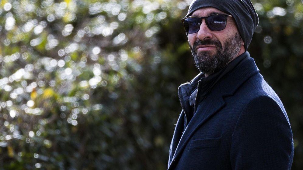 Foto: Monchi durante un entrenamiento con la Roma. (Efe)