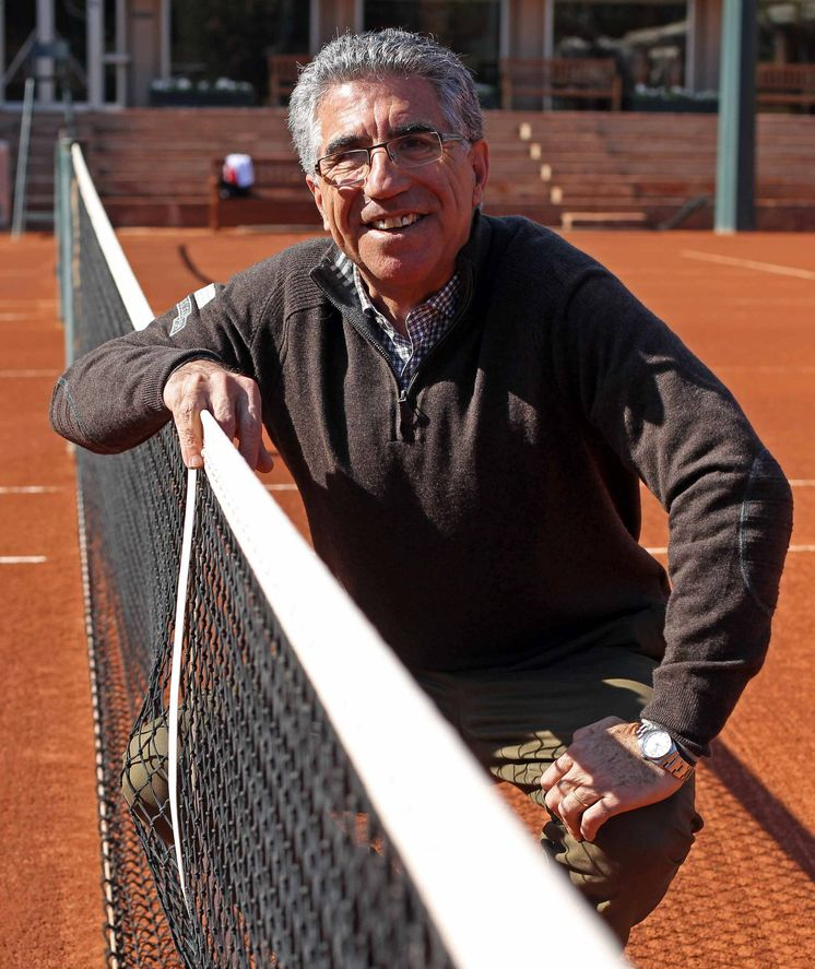 Foto: Manuel Orantes, en una imagen de archivo. (EFE)
