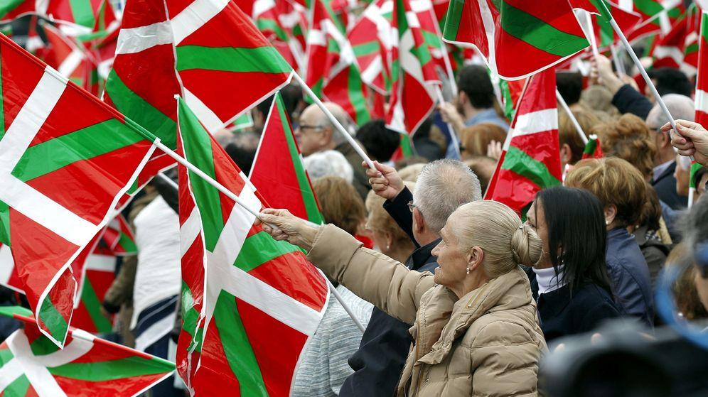 Foto: Imagen de archivo de nacionalistas vascos. (EFE)