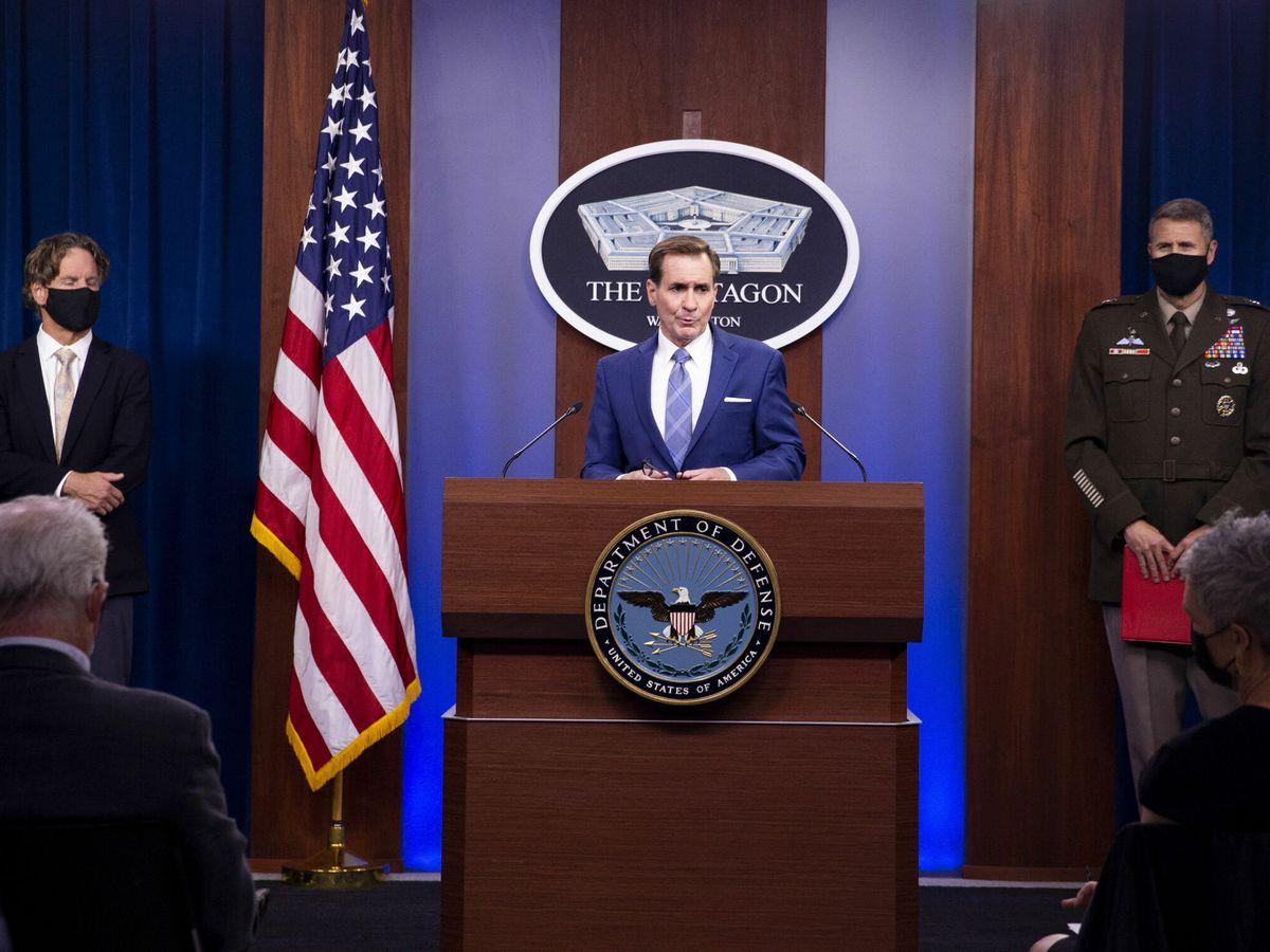 Foto: El portavoz del Departamento de Defensa, John Kirby. (EFE)