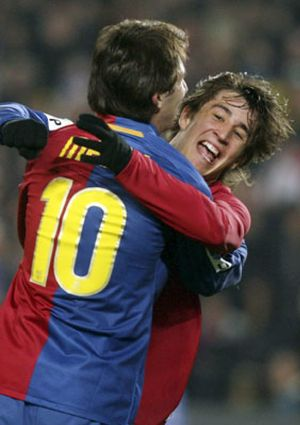 Bojan admite que vive un año de aprendizaje junto a Henry, Eto'o y Messi