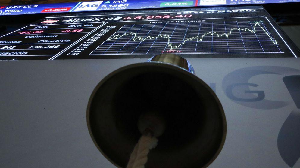 Foto: La bolsa española cambia de signo y cae el 0,17% arrastrada por la banca