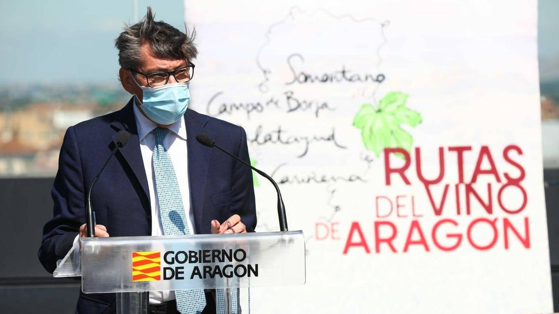 Arturo Aliaga, vicepresidente de Aragón y líder del PAR. (Gobierno de Aragón)