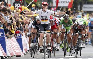 Greipel sigue con el festival alemán al sprint y Nibali sigue de amarillo