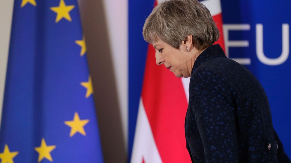 Foto: La primera ministra británica Theresa May. (EFE)