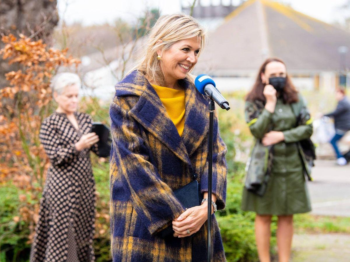 Foto: Máxima de Holanda, en un acto reciente. (Cordon Press)