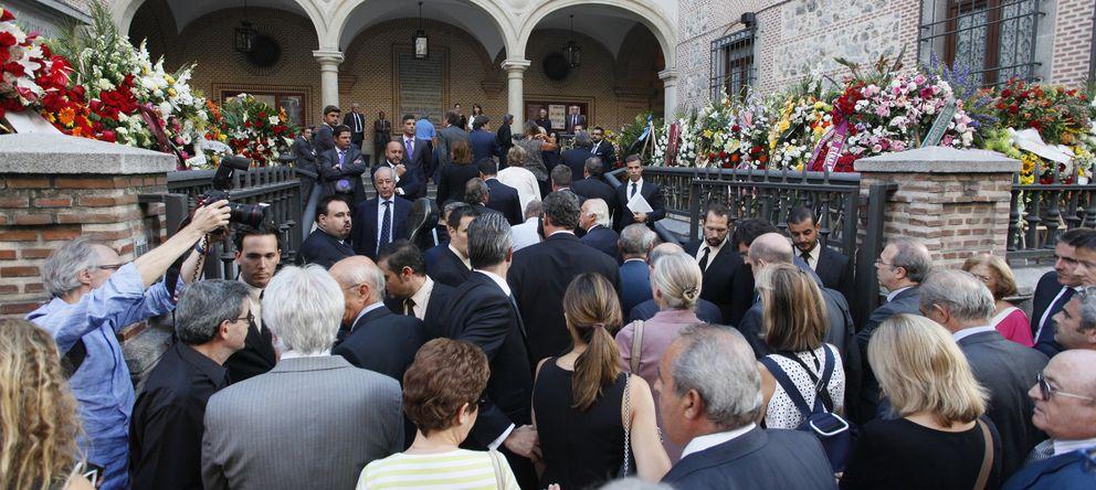 Foto: Imagen del funeral de Isidoro Álvarez (E. Villarino)