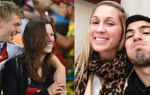 Jessica Farber y Sofía Balbi, las discretas WAG's que llegan al Madrid y al Barça