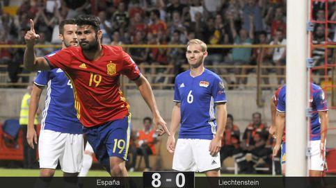 Diego Costa y Morata, la batalla por el '9' comienza servida por un mágico Silva