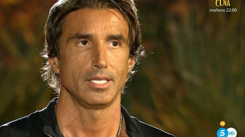 Hugo Sierra, abatido tras ser expulsado en 'SV 2020'. (Telecinco).