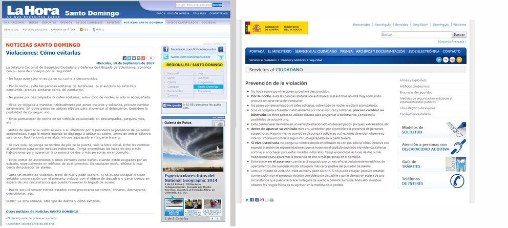 El ministerio del interior le copia a ecuador sus for Twitter ministerio del interior ecuador