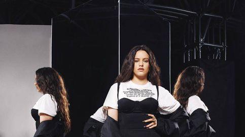 Rosalía y Carla Bruni: dos divas, dos estilos en el desfile de Burberry