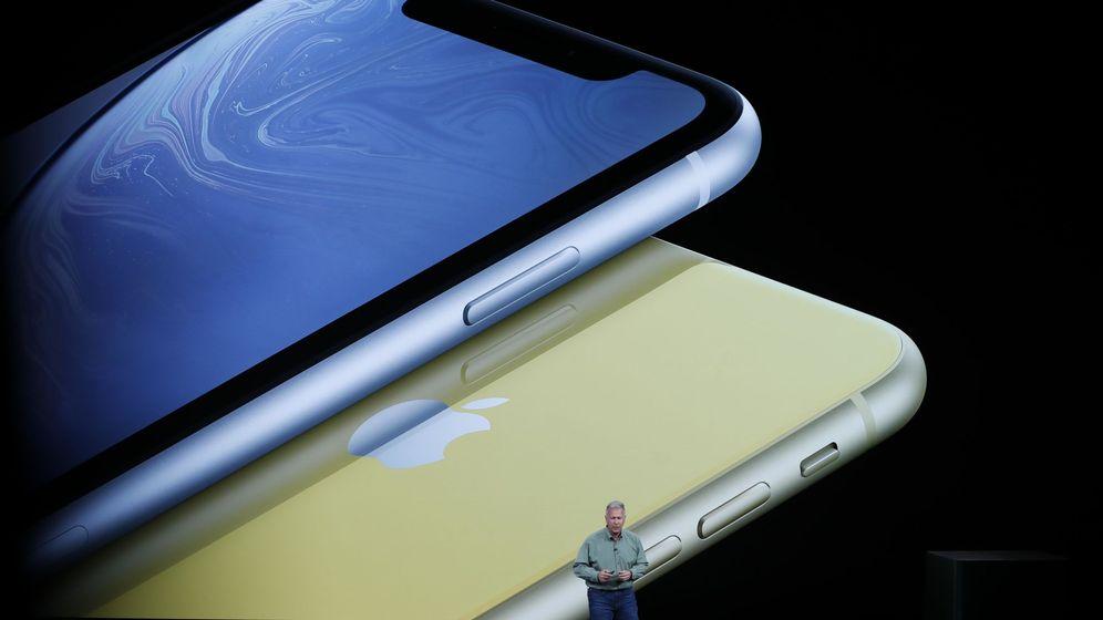 Foto: Imagen de la Keynote de Apple 2018. (REUTERS)