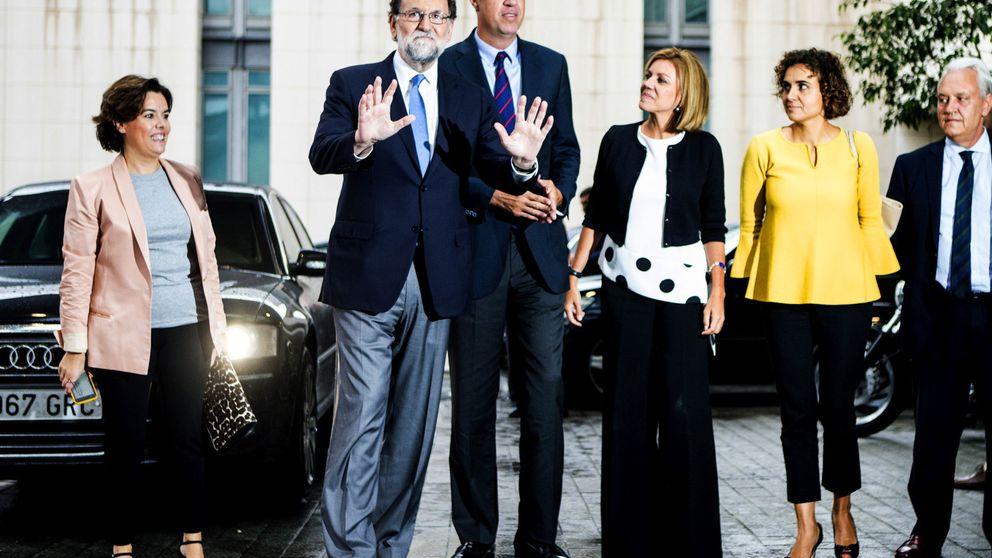 Despliegue de Rajoy ante el 21-D: Soraya con el 155 y Cospedal con la Infantería