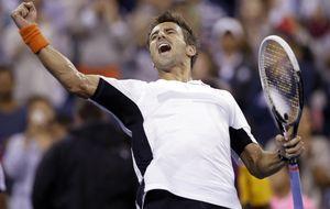 Robredo sigue con vida en el US Open y Carreño y Suárez caen