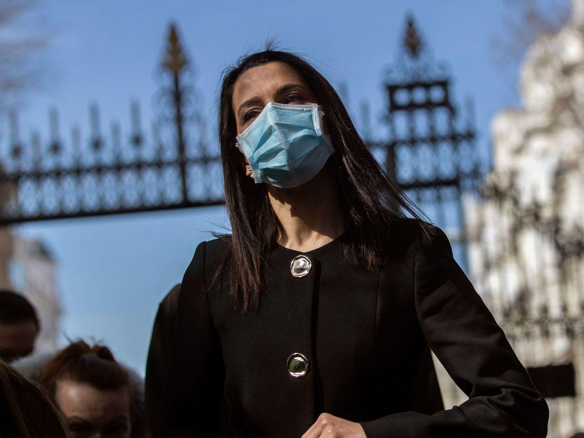 Foto: La presidenta de Ciudadanos, Inés Arrimadas. (EFE)