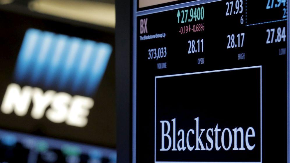 Foto: Blackstone, en la Bolsa de Nueva York. (Reuters)