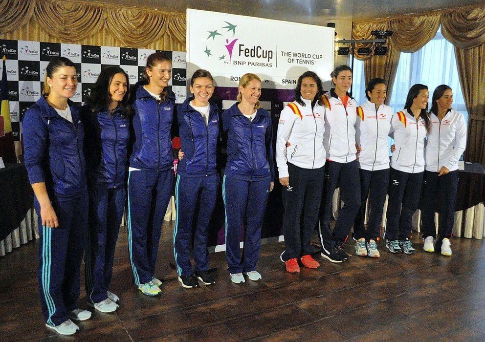 Foto: Para volver al Grupo Mundial, España tiene que ganar dos eliminatorias (EFE)