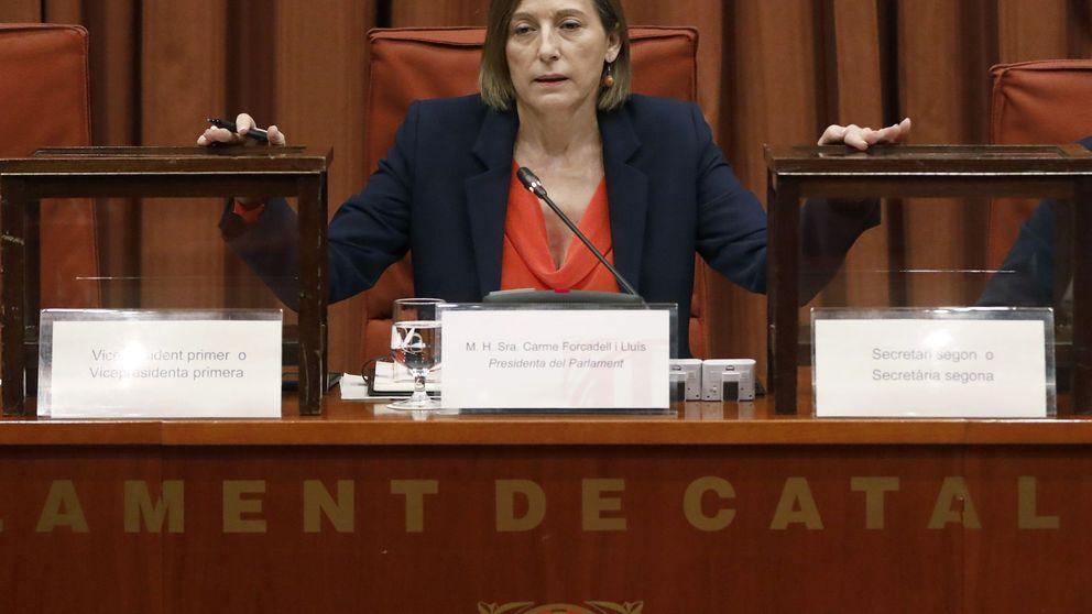 Forcadell y el independentismo mueven ficha para deslegitimar el 21-D en caso de derrota