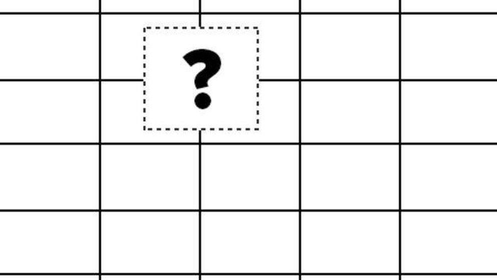 El test de inteligencia que solo supera el 4% de los adultos: ¿qué imagen falta?