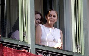 Pantoja regresa a la Semana Santa de Sevilla junto a sus hijos tras años de ausencia