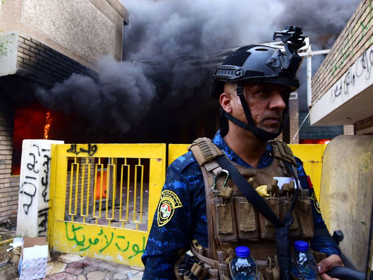 Foto: Imagen de archivo de policía iraquí. (EFE)