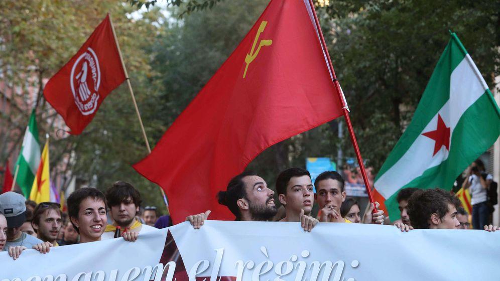 Foto: Acto de la izquierda independentista en Barcelona. (EFE)