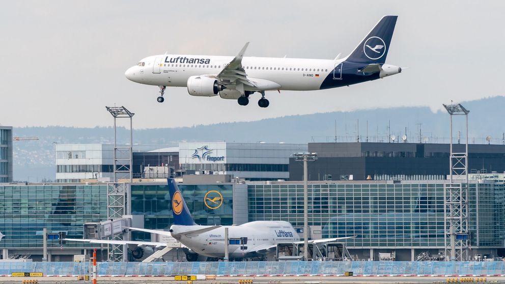 Lufthansa cancela el 95% de las operaciones por el coronavirus