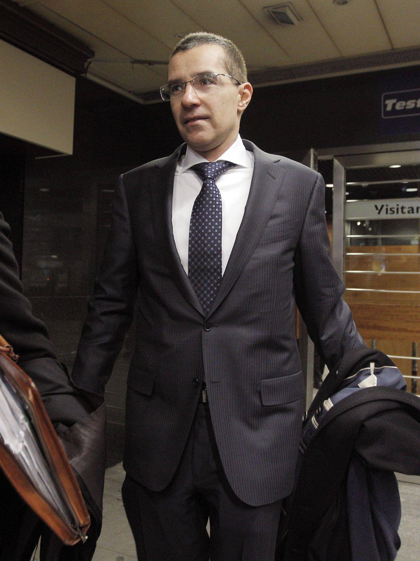 Carlos Koplowitz, en los juzgados de Madrid. (EFE)