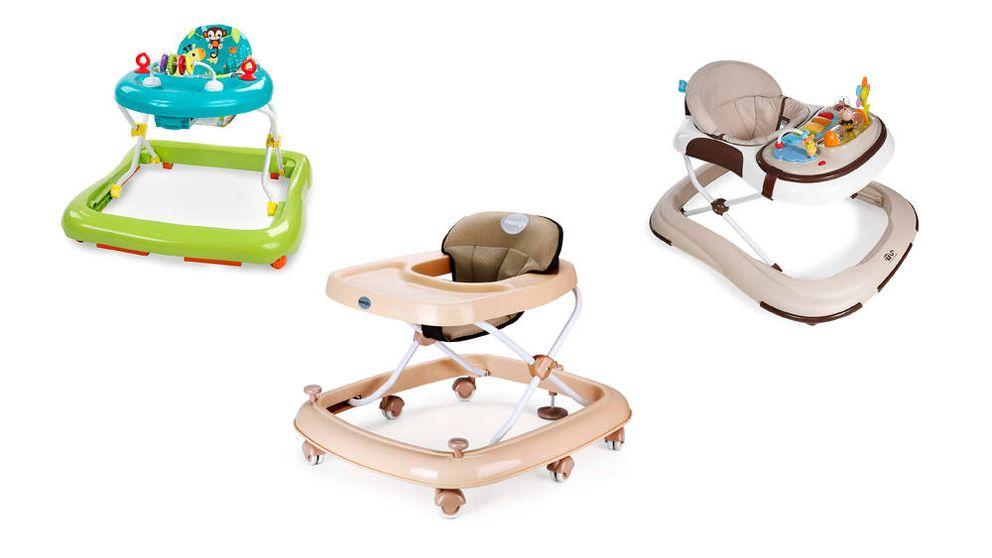 Los mejores andadores para tu bebé y las claves para acertar al comprarlo