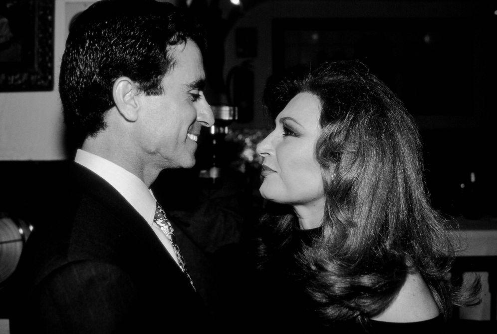 Foto: Ortega Cano y Rocío Jurado en una foto de archivo. (Getty)