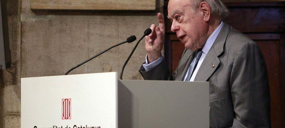 Foto: Jordi Pujol, durante un acto público en febrero de este mismo año. (Efe)