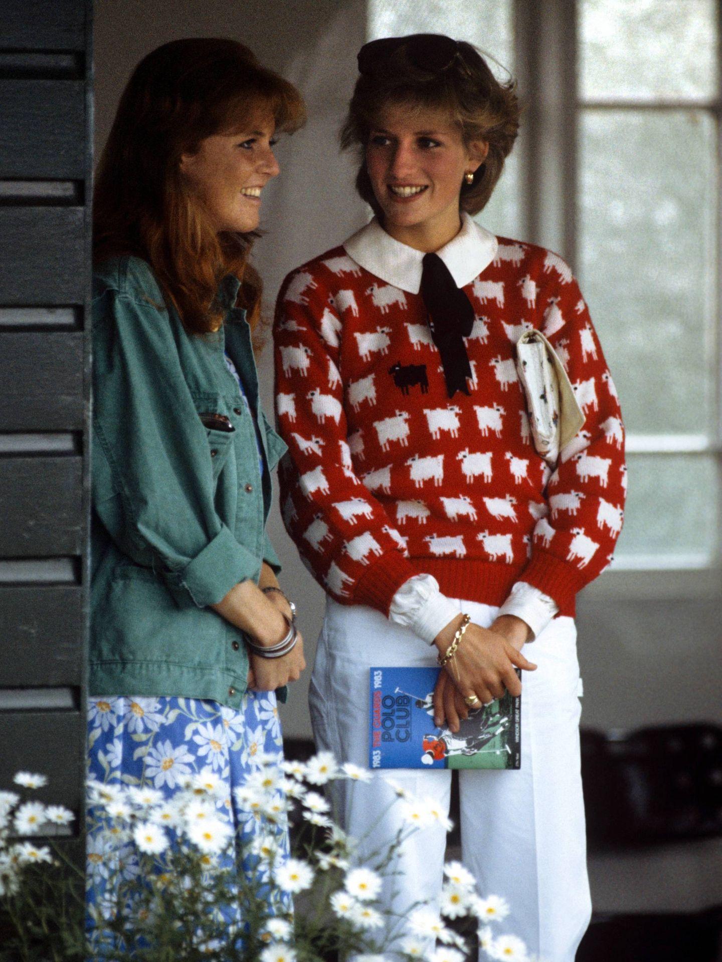 Sarah Ferguson y Diana de Gales. (Cordon Press)