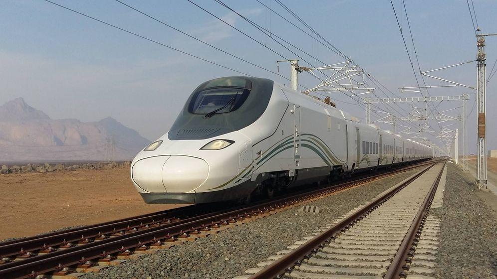 Foto: Imagen de archivo de un AVE de alta velocidad. (Europa Press)