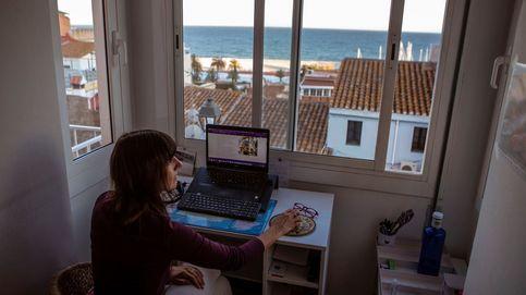 Uno de cada tres empleados en España podría teletrabajar, según CaixaBank
