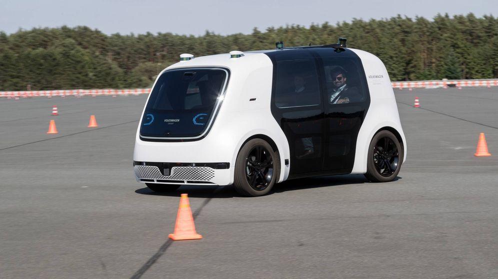Foto: Volkswagen Sedric, un prototipo de lo que será el futuro de la movilidad urbana que hemos probado en la pista de Ehra-Lessien.