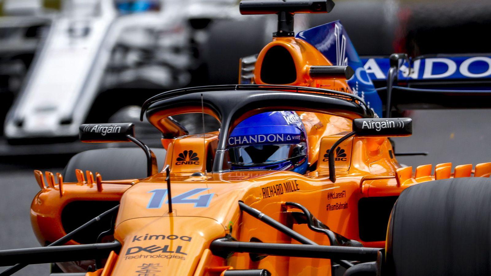 Foto: Fernando Alonso, a bordo de su McLaren durante el GP de Japón. (Reuters)