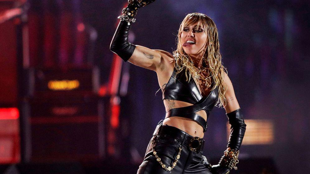Foto: Miley Cyrus, durante un concierto. Foto: REUTERS Steve Marcus